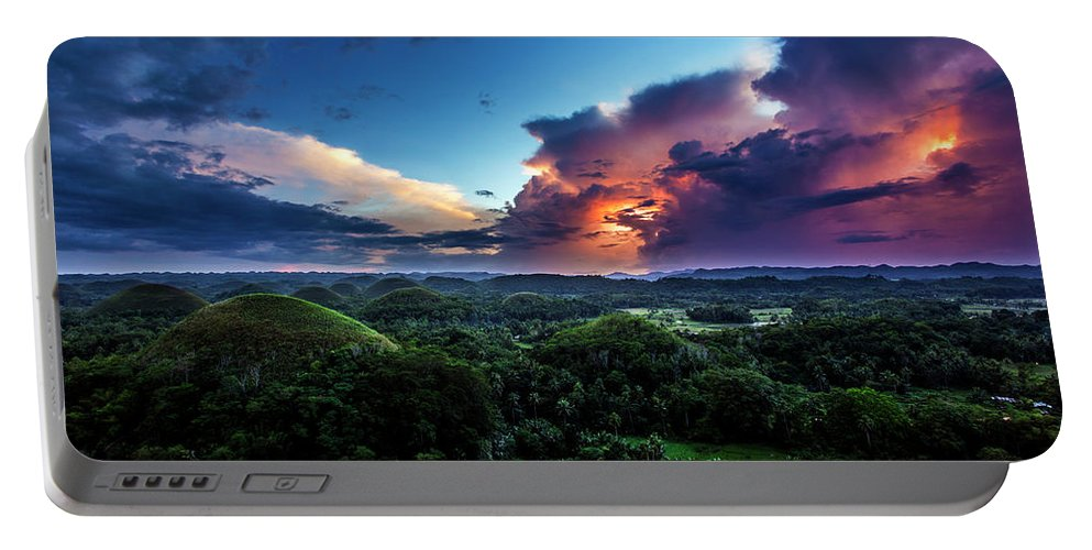 Landscape Portable Battery Charger featuring the photograph Landscape Series 14 by George Cabig