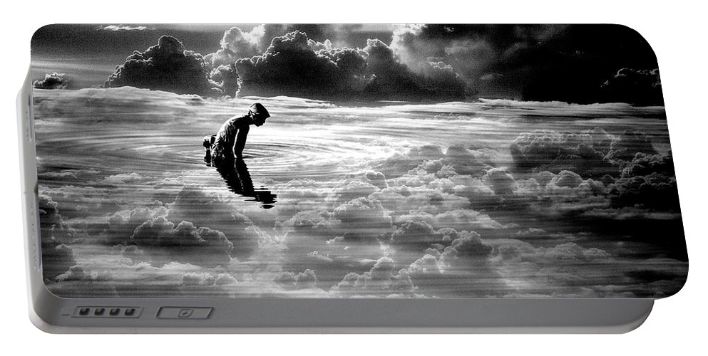 Landscape Portable Battery Charger featuring the photograph Landscape Series 18 by George Cabig