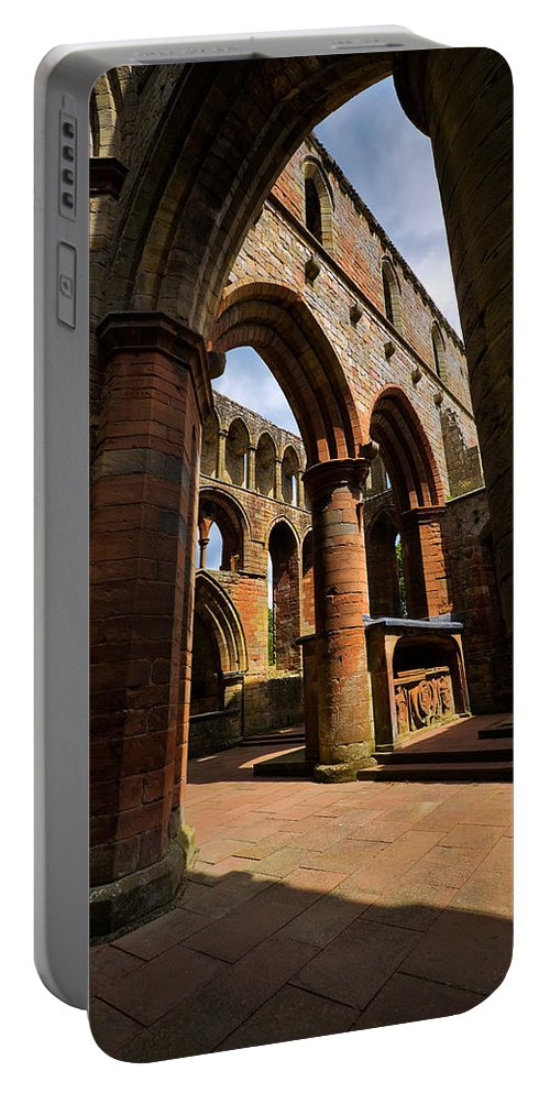 Travel Portable Battery Charger featuring the photograph Lanercost Priory by Louise Heusinkveld