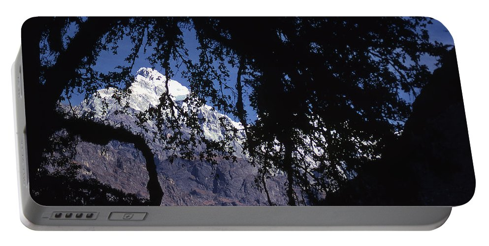 Langtang Portable Battery Charger featuring the photograph Langtang by Patrick Klauss