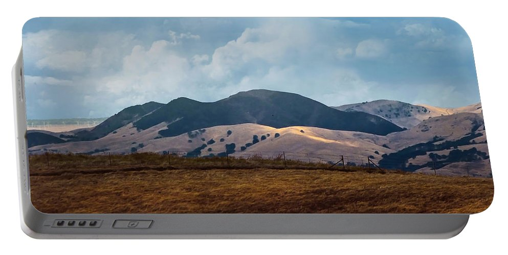 Las Trampas Portable Battery Charger featuring the photograph Las Trampas Hills by Karen W Meyer