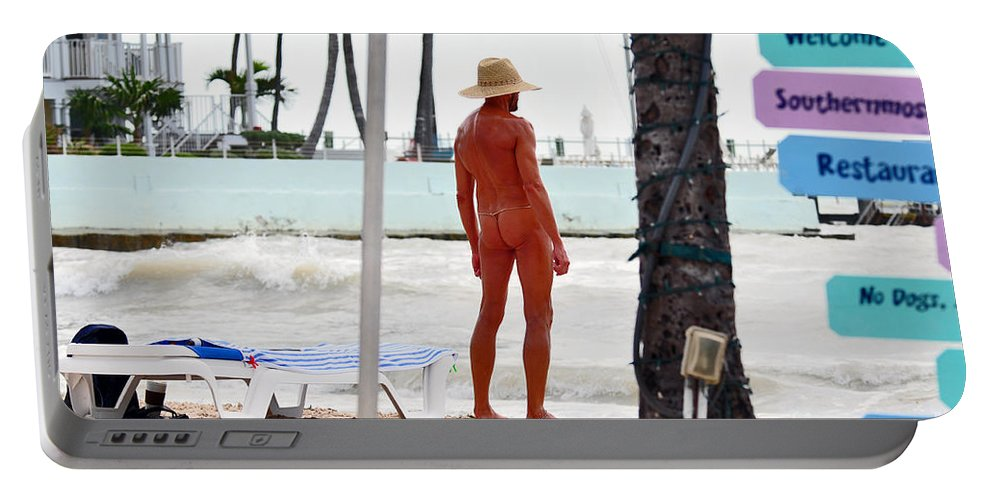 Key West Florida Portable Battery Charger featuring the photograph Last Of The Oldies by Davids Digits