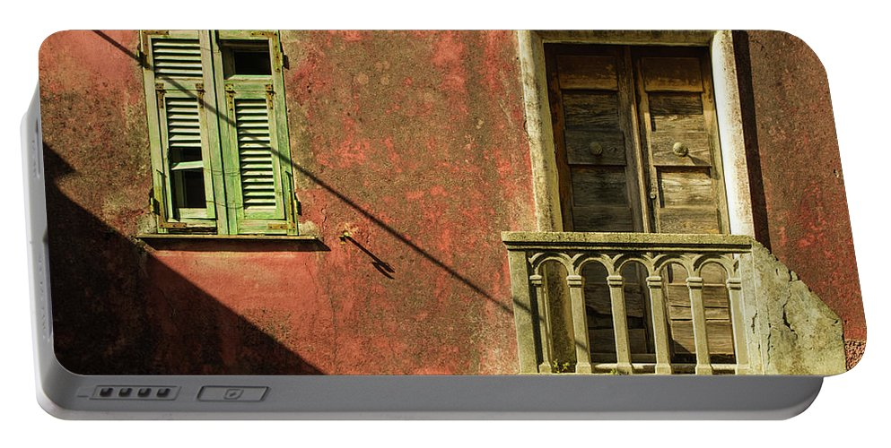 Cinque Terre Portable Battery Charger featuring the photograph Late Afternoon Stroll Through Legnano by Denise Gallagher