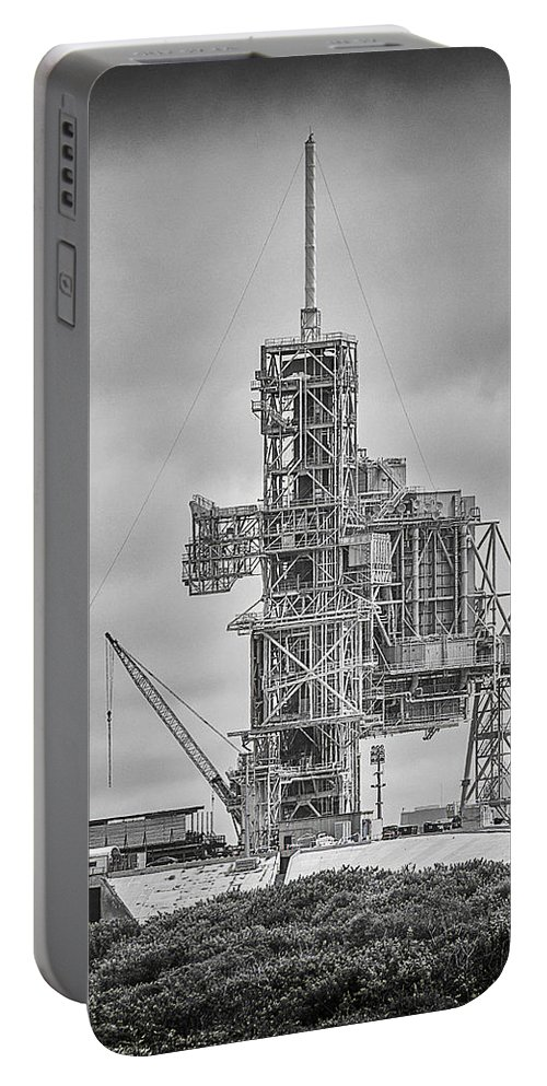 Launch Pad 39a Launch Complex 39 (lc-39) Portable Battery Charger featuring the photograph Launch Pad 39a by Shawn McMillan