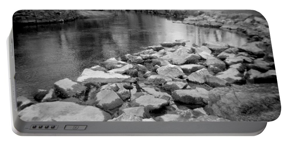 Photograph Portable Battery Charger featuring the photograph Le Tort Spring Run by Jean Macaluso