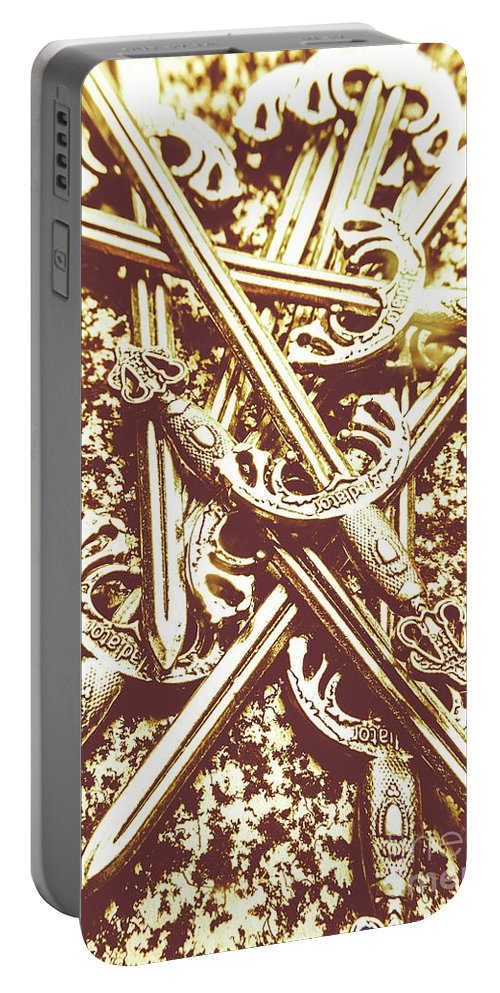 Dark Ages Portable Battery Charger featuring the photograph League Of Legions by Jorgo Photography - Wall Art Gallery