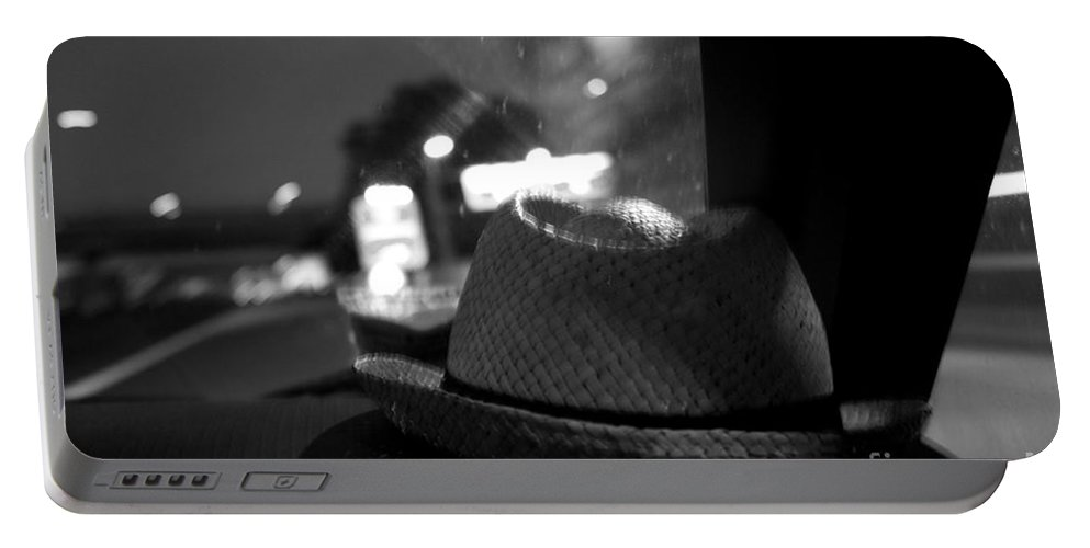 Capello Portable Battery Charger featuring the photograph Leave Your Hat On by Donato Iannuzzi