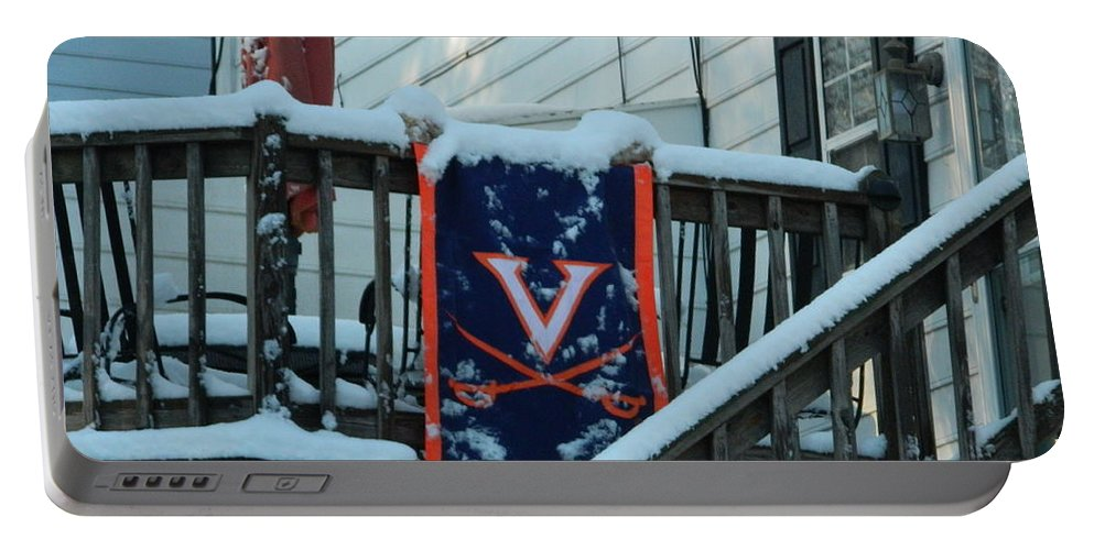 Back Porch Portable Battery Charger featuring the photograph Hometown Series - Left Out by Arlane Crump
