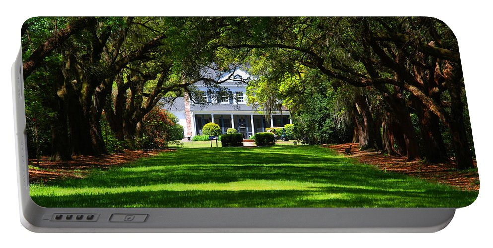 Photography Portable Battery Charger featuring the photograph Legare Waring House Charleston Sc by Susanne Van Hulst