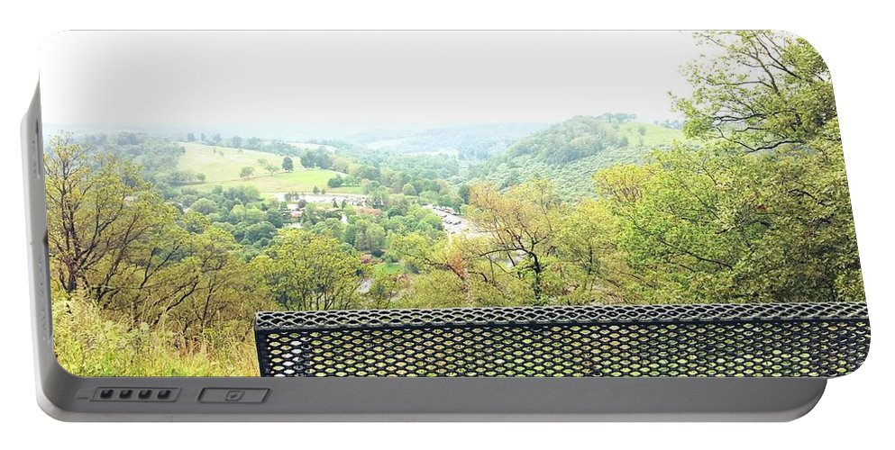 Scenery Portable Battery Charger featuring the photograph Lehigh Valley Zoo by Karissa Mazurek