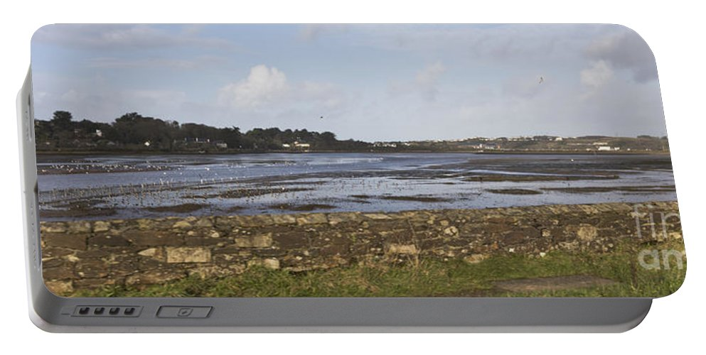 Lelant Portable Battery Charger featuring the photograph Lelant Water Hayle Estuary by Terri Waters