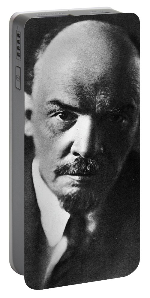 Lenin Portable Battery Charger featuring the photograph Lenin by Russian School