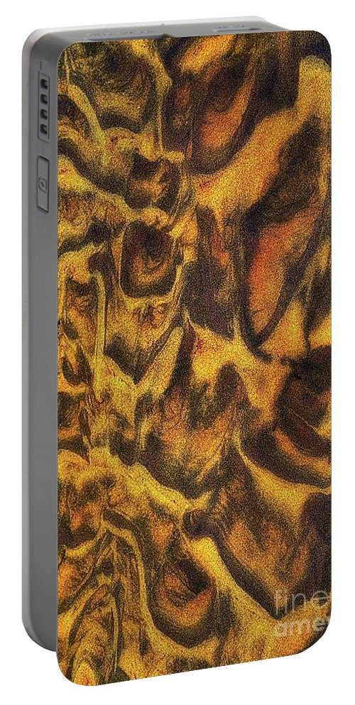 Sand Portable Battery Charger featuring the photograph Leopard In The Sand by Lauren Leigh Hunter Fine Art Photography