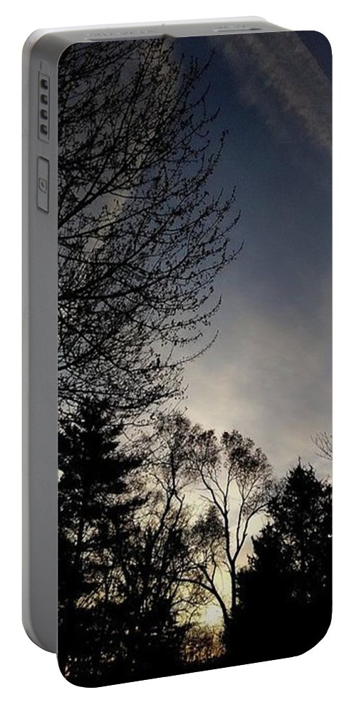 Frank J Casella Portable Battery Charger featuring the photograph 'let There Be Peace On Earth' - Read by Frank J Casella