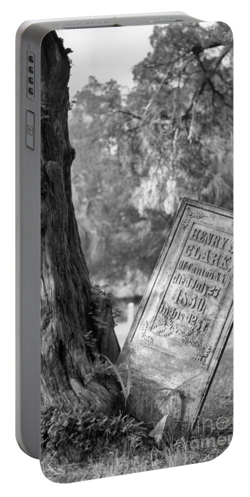Graves Portable Battery Charger featuring the photograph Life After Death by Richard Rizzo