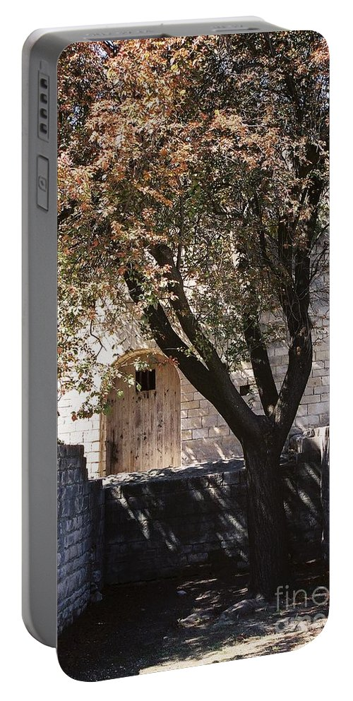 Life Portable Battery Charger featuring the photograph Life And Death by Nadine Rippelmeyer