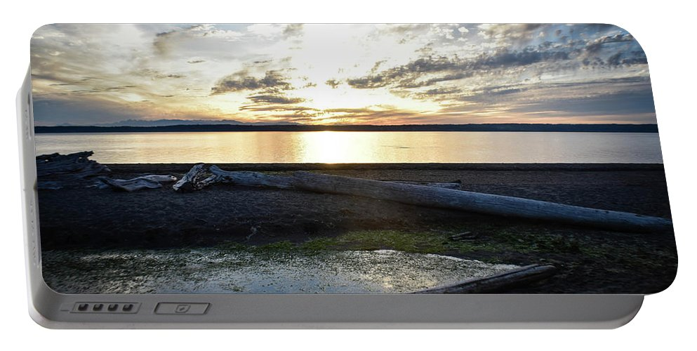 Landscape Portable Battery Charger featuring the photograph Life's A Beach by Eric M Bass