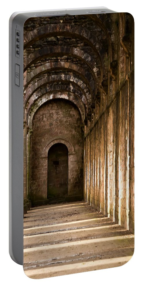 Castle Portable Battery Charger featuring the photograph Light And Shadows 1 by Svetlana Sewell
