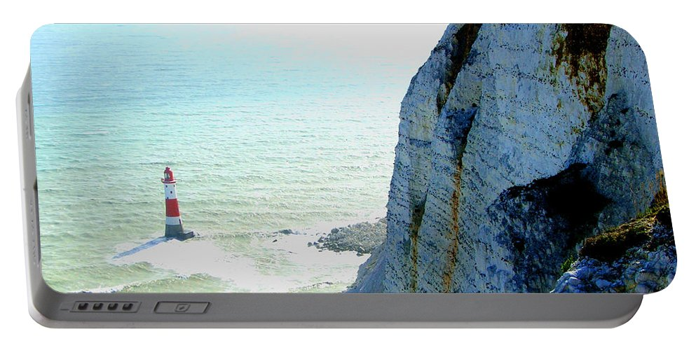 Lighthouse Portable Battery Charger featuring the photograph Lighthouse by Heather Lennox