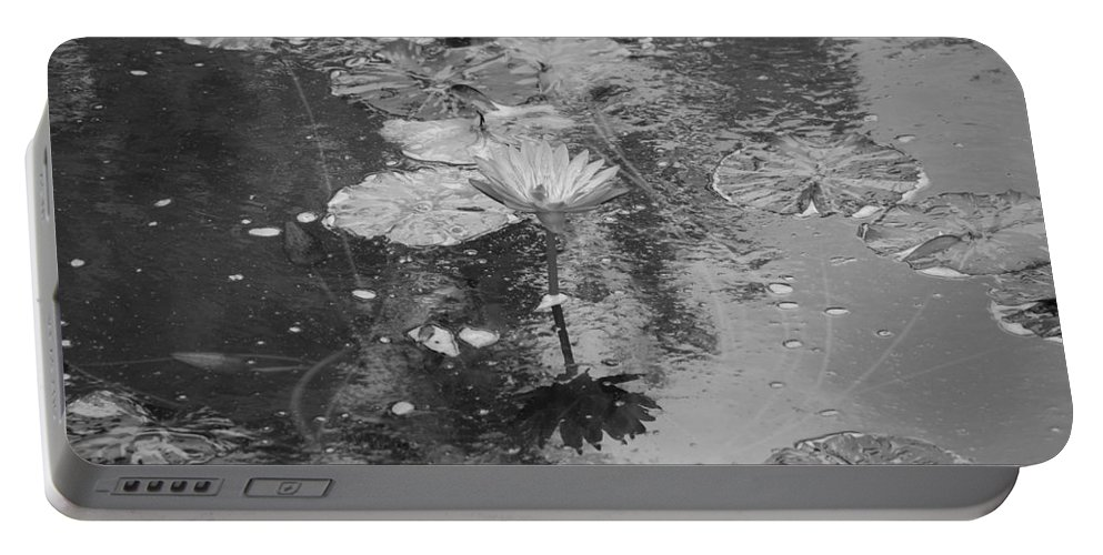 Lilly Pond Portable Battery Charger featuring the photograph Lilly Pond by Rob Hans