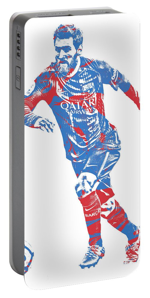 9a09cd020 Lionel Messi F C Barcelona Argentina Pixel Art 1 Portable Battery Charger  for Sale by Joe Hamilton