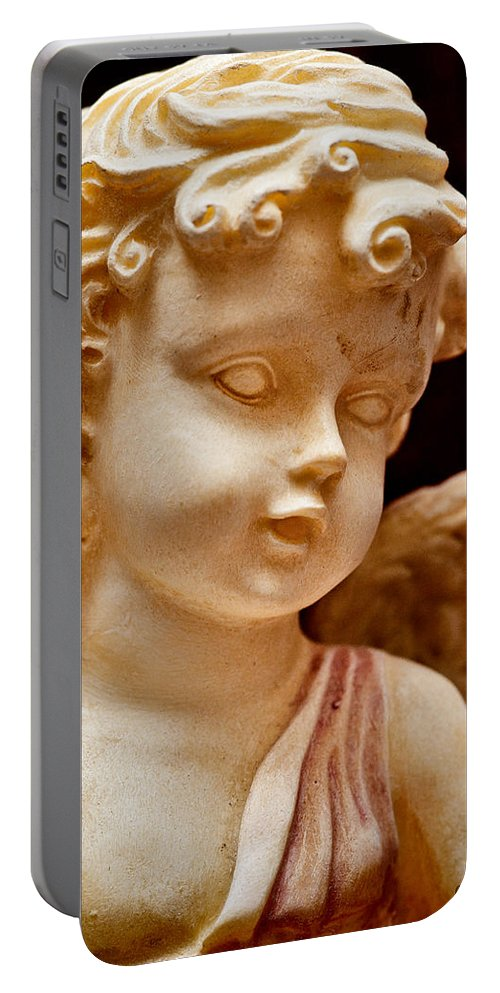 Angel Portable Battery Charger featuring the photograph Little Angel by Christopher Holmes