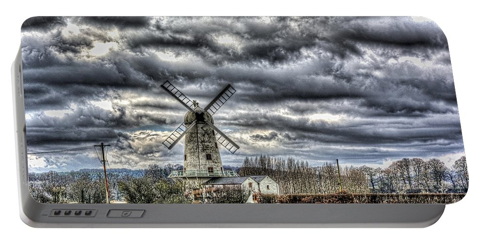 Llancayo Mill Portable Battery Charger featuring the photograph Llancayo Mill Usk 1 by Steve Purnell