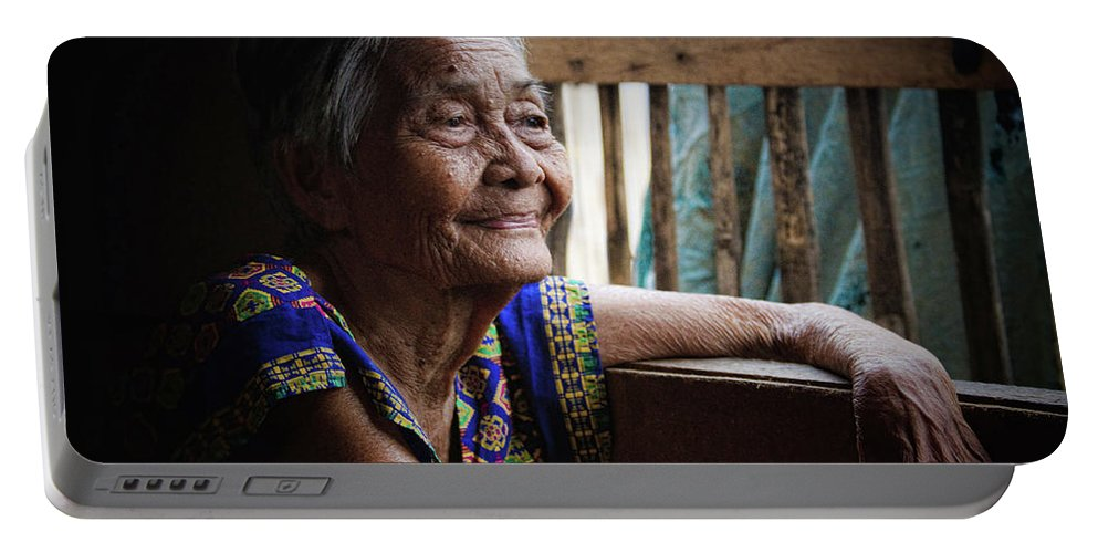 Philippines Portable Battery Charger featuring the photograph Lola by James BO Insogna