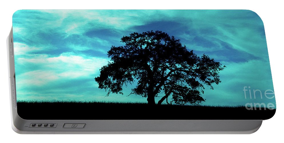 Oak Portable Battery Charger featuring the photograph Lone Oak by Jim And Emily Bush