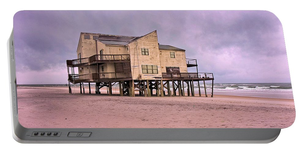 Topsail Portable Battery Charger featuring the photograph Lonely Spirit by Betsy Knapp