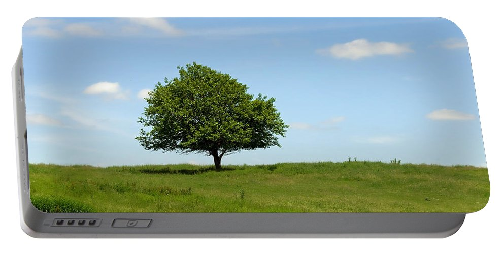 Tree Portable Battery Charger featuring the photograph Loner by David Arment