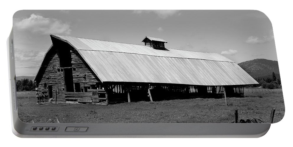 Denise Bruchman Portable Battery Charger featuring the photograph Long Barn by Denise Bruchman