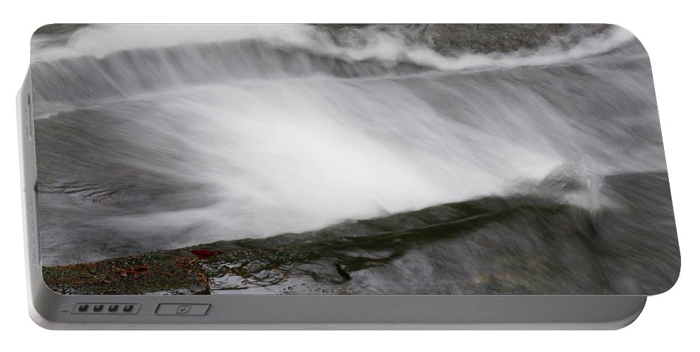 Waterfall Portable Battery Charger featuring the photograph Long Creek Falls Swoosh by Paul Rebmann