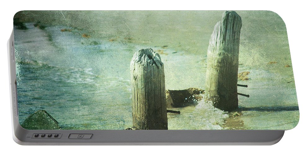 Vintage Portable Battery Charger featuring the photograph Long Time Ago by Susanne Van Hulst