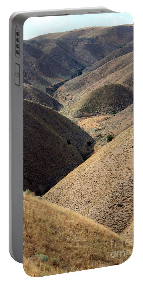 Look Portable Battery Charger featuring the photograph Look Out Mountain Idaho by Alycia Christine