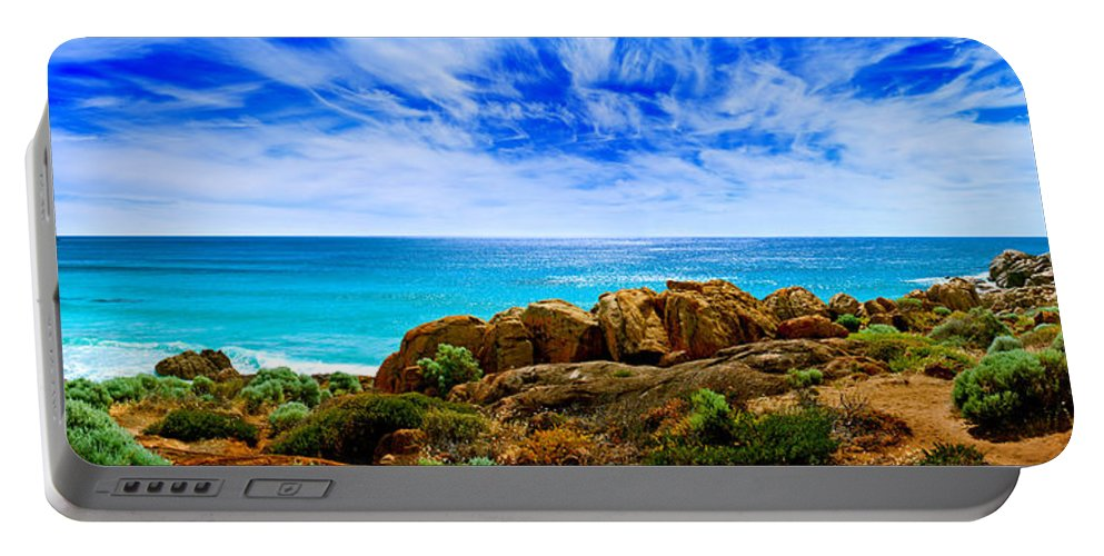 Smiths Beach Portable Battery Charger featuring the photograph Look To The Horizon by Az Jackson