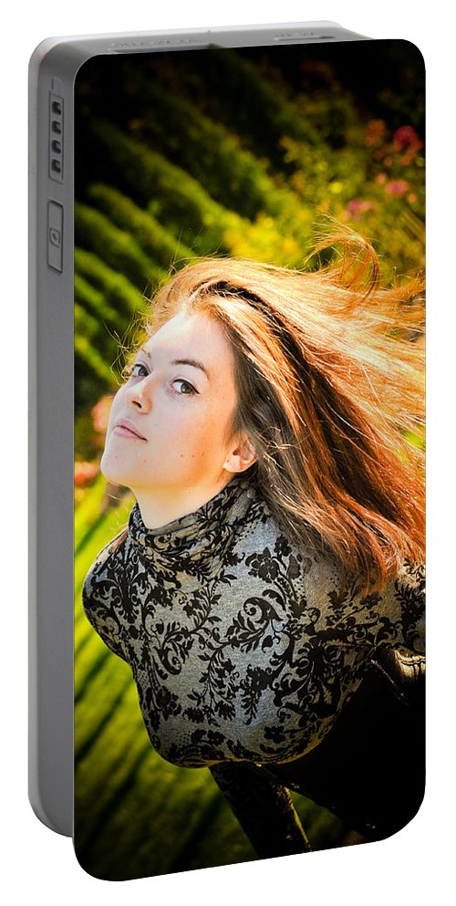 Loriental Portable Battery Charger featuring the photograph Lost Mermaid by Loriental Photography