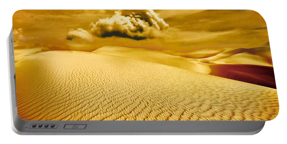 Desert Portable Battery Charger featuring the photograph Lost Worlds by Jacky Gerritsen