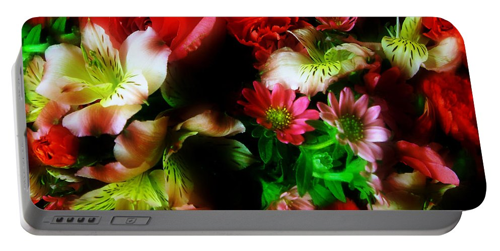 African Daisies Portable Battery Charger featuring the photograph Loud And Proud by RC DeWinter
