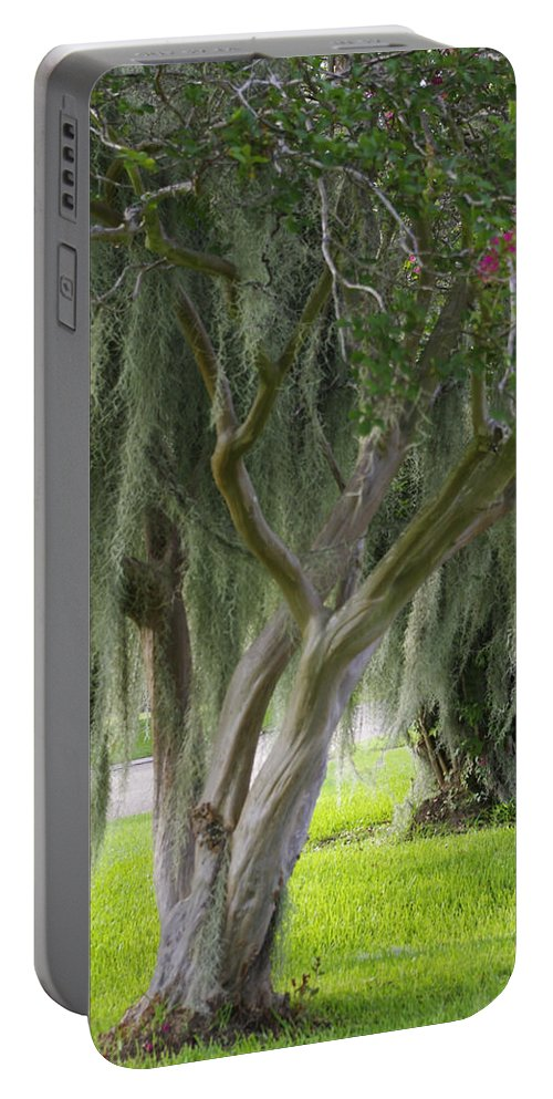 Photograph Portable Battery Charger featuring the photograph Louisiana Moodiness by Rhonda McDougall