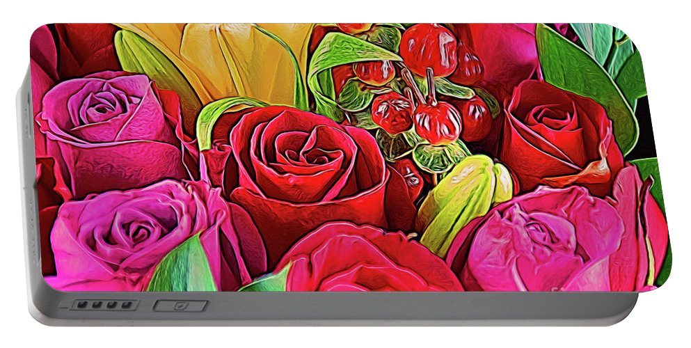 Love 18-3 Portable Battery Charger featuring the photograph Love 18-3 by Ray Shrewsberry