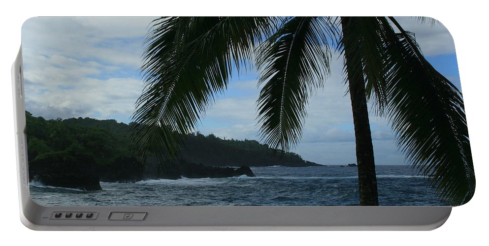 Aloha Portable Battery Charger featuring the photograph Love Is Eternal - Poponi Maui Hawaii by Sharon Mau