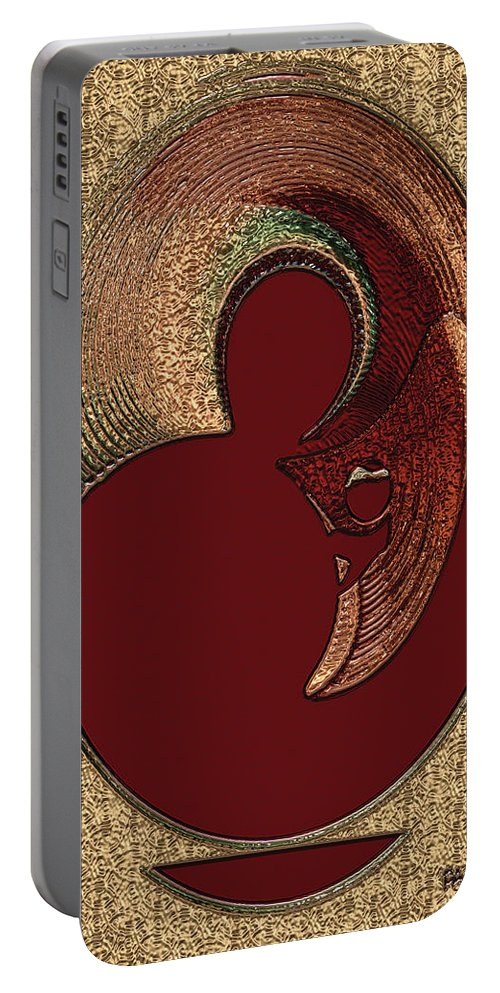 Paula Ayers Portable Battery Charger featuring the digital art Love Is... by Paula Ayers
