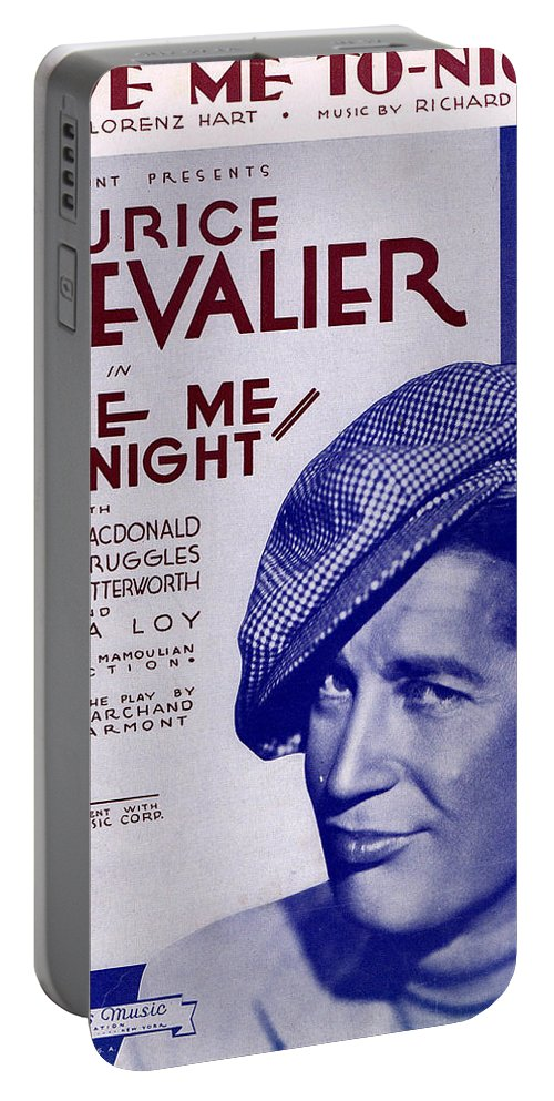 Classic Portable Battery Charger featuring the photograph Love Me To-night by Mel Thompson