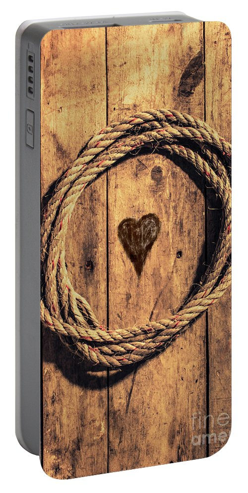 Nautical Portable Battery Charger featuring the photograph Love Of The Sea by Jorgo Photography - Wall Art Gallery