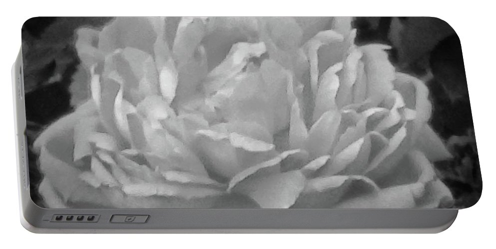 Flower Portable Battery Charger featuring the photograph Lovely by Viki Velazquez