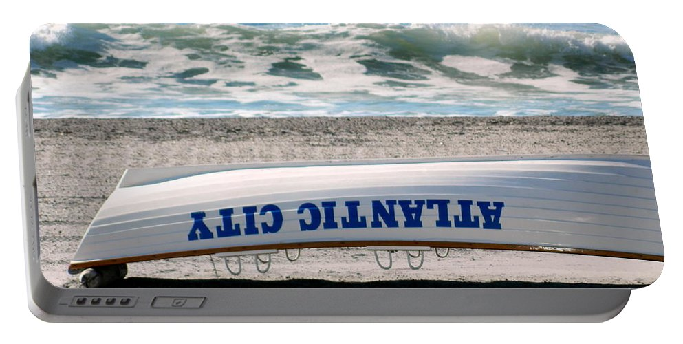 Beach Portable Battery Charger featuring the photograph Low Tide by Arlane Crump