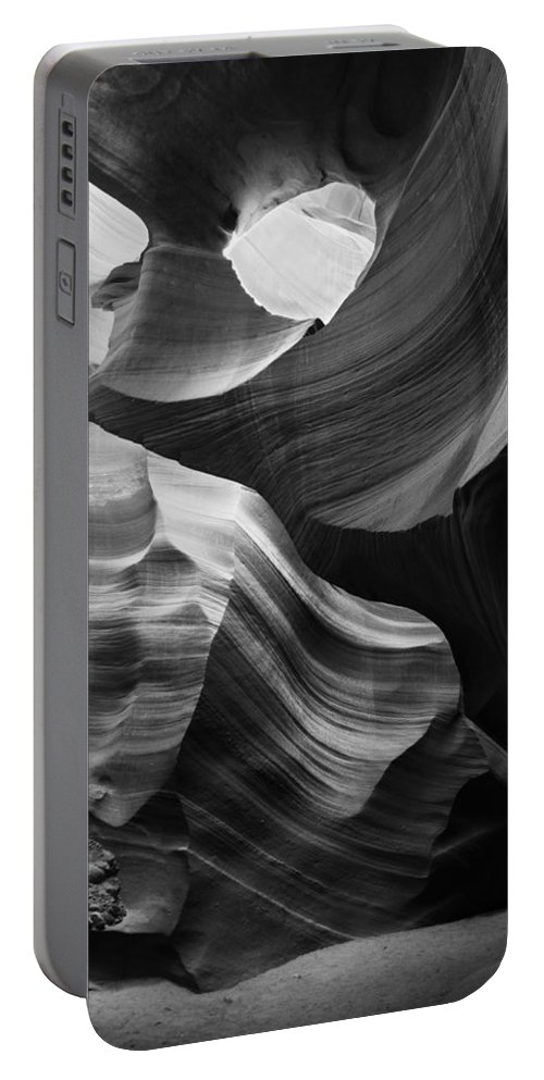 Slot Portable Battery Charger featuring the photograph Lower Antelope Canyon 2139 by Bob Neiman