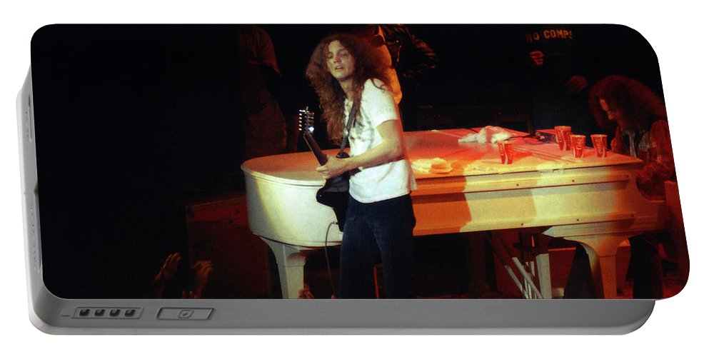 Lynyrd Skynyrd Portable Battery Charger featuring the photograph Ls #1 by Ben Upham