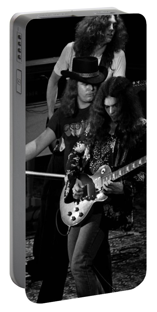 Lynyrd Skynyrd Portable Battery Charger featuring the photograph Ls #45 Crop 3 by Ben Upham